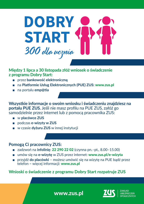 infografika Dobry Start 300